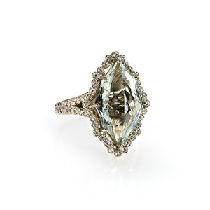 Octa Marquise Ring